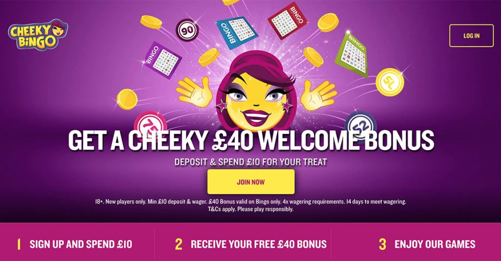 Cheeky Bingo Signup Bonus